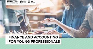 Предложение за работа в EY е сред възможностите за завършилите School of Finance and Accounting for Young Professionals