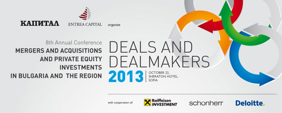 8th Annual Conference Mergers and Acquisitions and Private Equity Investments in Bulgaria and the Region